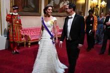 Herzogin Catherine +Steven Mnuchin