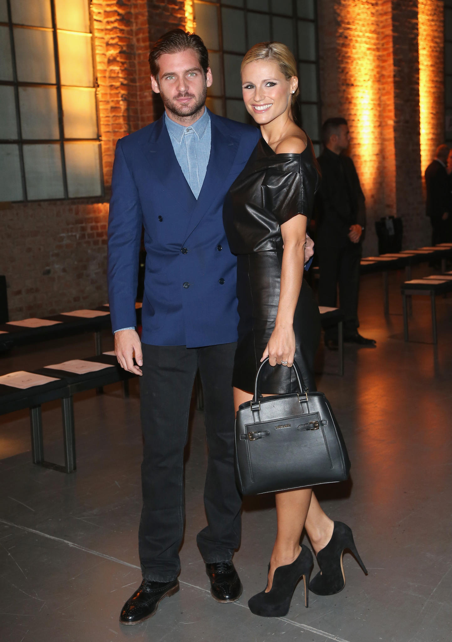 Tomaso Trussardi und Michelle Hunziker