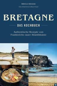 """Murielle Rousseau präsentiert neben 70 Rezepten von der bretonischen Küste faszinierende Impressionen von Land und Leuten. Als zusätzliches Schmankerl stellt sie Hersteller landestypischer Produkten vor. (""""Bretagne"""", Christian Verlag, 224 S., 29,99 Euro)"""