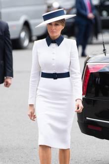Melania Trump: Melania Trump in Dolce & Gabanna