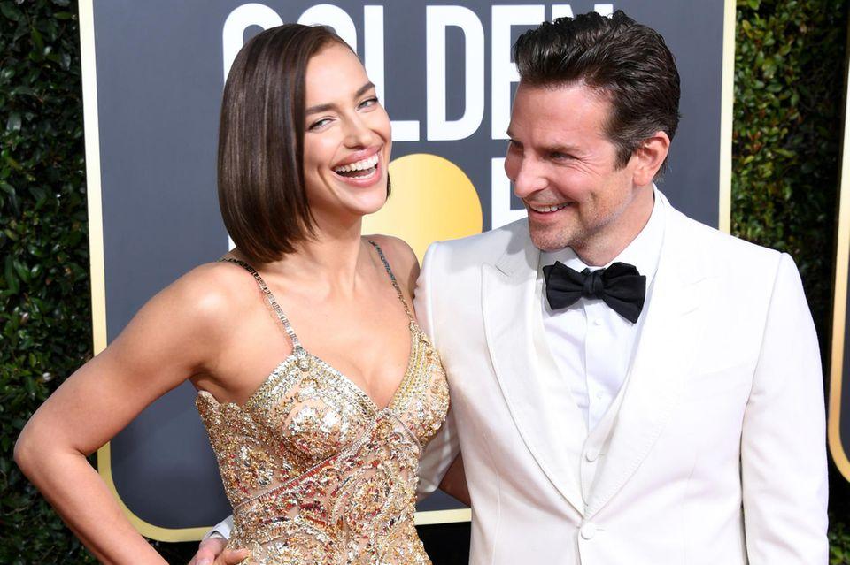 Irina Shayk + Bradley Cooper