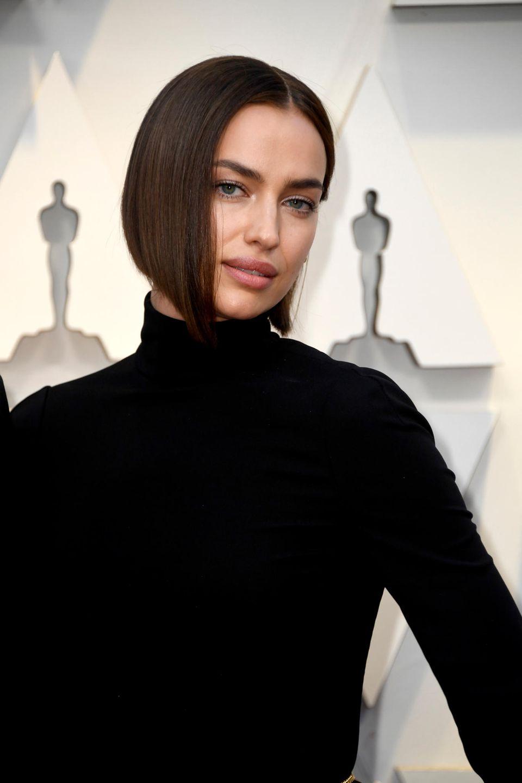 Gut gelaunt sieht anders aus: Irina Shayk bei der diesjährigen Oscar-Verleihung.