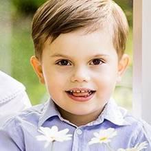 Prinz Oscar ist schon in jungen Jahren ein echter Fotoprofi. Ob er sich bei seinen Posen auch an anderen Prominenten orientiert? Schließlich erinnert seine Handhaltung verdächtig an ...