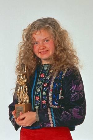 In den 90ern trat Barby Kelly mit ihren Brüdern und Schwestern auf