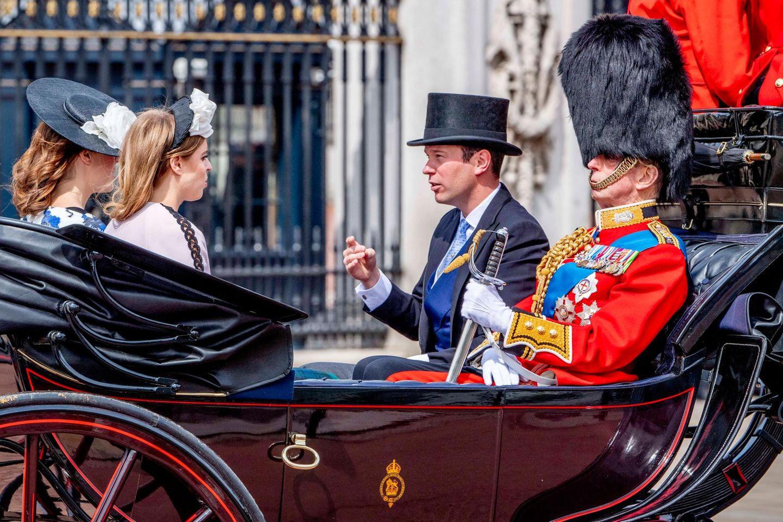 Prinzessin Eugenies Ehemann Jack Brooksbank darf jetzt ebenfalls an der Geburtstagsparade teilnehmen.