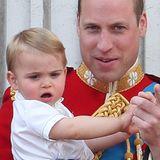 Prinz Louis ist wirklich der heimliche Star auf dem Balkon.