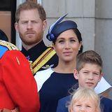 Im nächsten Jahr hatder kleine Archie dannhoffentlich seinen ersten Balkonauftritt mit Mama Meghan und Papa Harry.