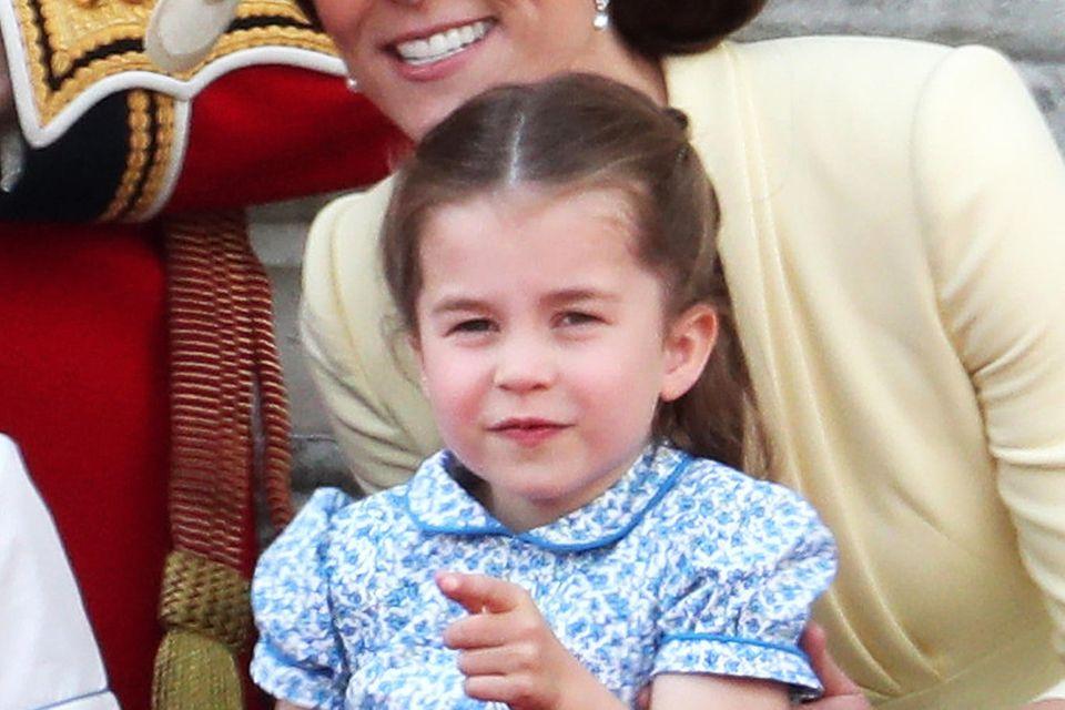 """Für Prinzessin Charlotte ist es in diesem Jahr schon die vierte """"Trooping the Colour""""-Parade."""