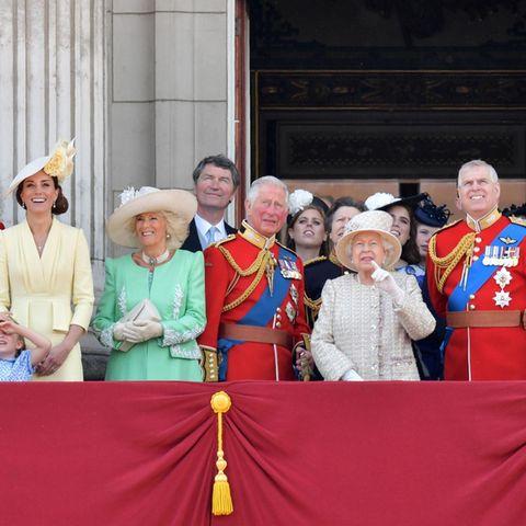 """Die britische Königsfamilie bei """"Trooping the Colour"""" 2019"""