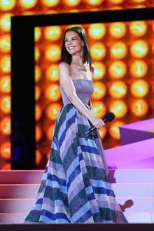 Hollywood-Star Katie Holmes lässt es sich nicht nehmen, den letzten Life Ball auf der Bühne in Wien zu erleben.