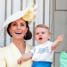 Herzogin Catherine + Prinz Louis