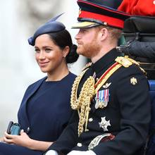 Herzogin Meghan und Prinz Harry bei Trooping the Colour