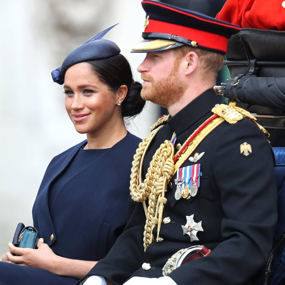 Royale Hochzeit: Prinz Harry heiratet seine Meghan Markle - cover