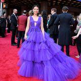 DER Hingucker der Tony Awards ist ganz klarLucy Lui im lilafarbenen Tülltraum von Christian Siriano.