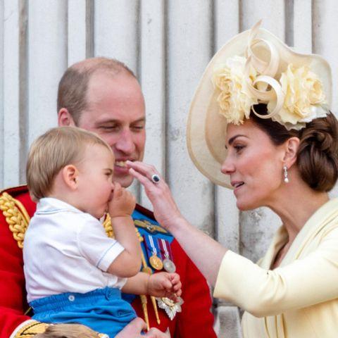 Trooping The Colour, Prinz William, Prinz Louis, Herzogin Catherine