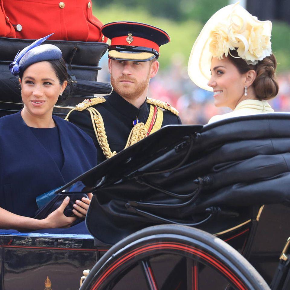 Herzogin Meghan, Prinz Harry, Herzogin Catherine, Herzogin Camilla