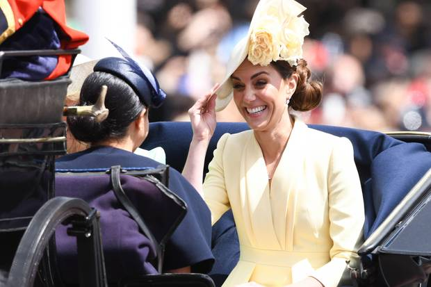 Trooping The Colour, Herzogin Meghan, Herzogin Catherine