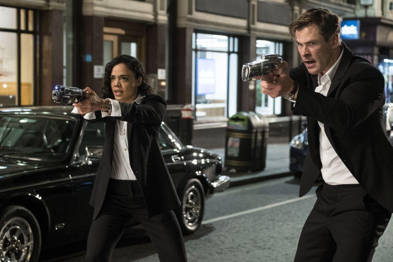 """Szene aus """"Men in Black: International"""". Der Film startet am 13. Juni 2019 in den deutschen Kinos."""