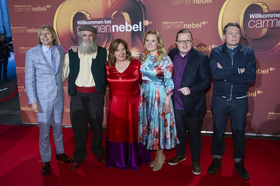 John, Paul, Kathy, Patricia, Angelo und Jimmy Kelly (von links nach rechts)