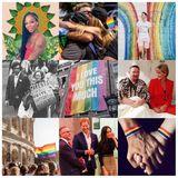 Prinz Harry und Herzogin Meghan läuten den Pride-Monat Juni mit einer bunten Collage auf ihrem Instagram-Account ein.