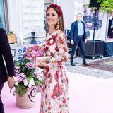Die schönste Blüte des Abends: Prinzessin Sofia zeigt sich bei der Verleihung des Polar Music Prize in Stockholm in einem wunderschönen, floralen Look ...