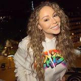 """""""Happy Pride Month!"""" Mariah Carey wünscht all ihren Freunden in der LGBTQ-Gemeinde ganz viel Liebe."""