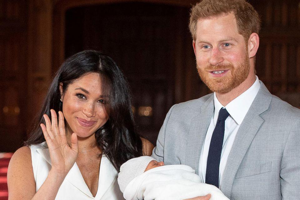 Prinz Harry, Herzogin Meghan, Baby Archie
