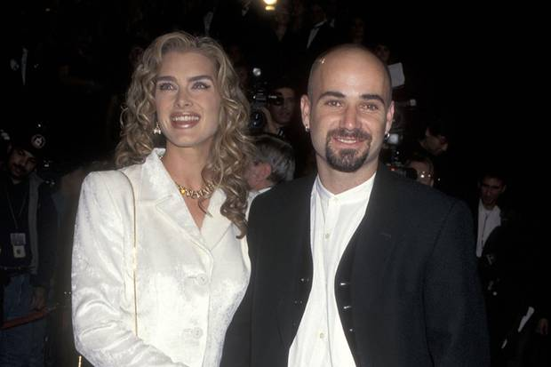 Brooke Shields + Andre Agassi bei den11th Annual American Comedy Awards im Februar 1997