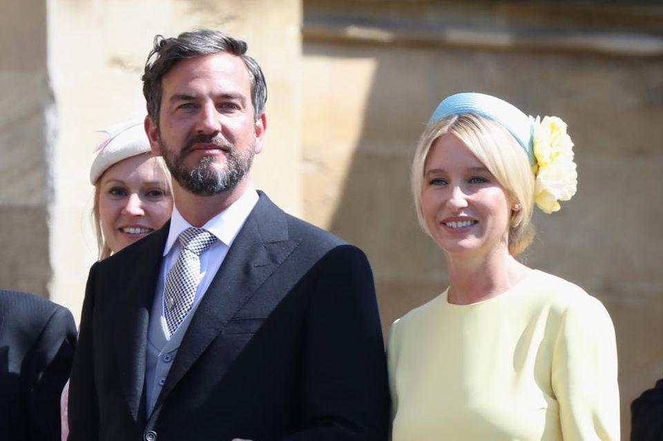 Markus Anderson und Izzy May auf der Hochzeit von Prinz Harry und Herzogin Meghan am 19. Mai 2018.