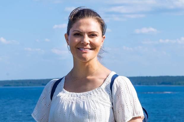 Prinzessin Victoria wandert seit 2017 regelmäßig durch die Regionen ihrer Heimat Schweden