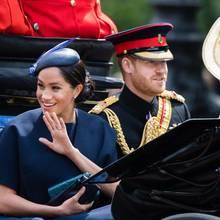 Herzogin Meghan, Prinz Harry + Herzogin Catherine