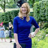 Die Tennisspielerin mal anders: 2014 besucht Steffi das Pferderennen im britischen Ascot.