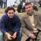 14. Juni 2019  David Beckham ist sich nicht sicher, ob Sohnemann Brooklyn den Witz verstanden hat, den er gerade gerissen hat. Dem Gesichtsausdruck nach zu urteilen, könnte er da recht haben.