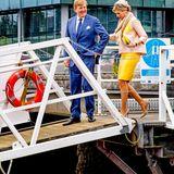 Tag 3  Am dritten Tag ihres Staatsbesuchs besichtigen König Willem-Alexander und Königin Máxima denTiefsee-Terminal Ringaskiddy.