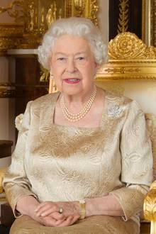 Queen Elizabeth musste als Kind mit geradem Rücken sitzen.