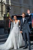 15. Juni 2019  Nach sieben Jahren Beziehung geben sich Sergio Ramos und Pilar Rubio in der Kathedrale vonSevilla das Jawort. Der spanische Nationalkicker und die schöne Moderatorin haben dafür 400 Gäste geladen. Darunter befinden sich auch David und Victoria Beckham.