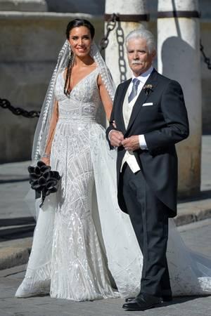 Pilar Rubio und ihr Vater Manuel