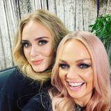 """15. Juni 2019  Die Spice Girls haben im Wembley Stadion ein Heimspiel und geben vor """"ihren"""" Londonern ein Konzert. Ein Fan, der auch dabei ist, ist keingeringerer als Sängerin Adele. Sie freut sich besonders auf das Spektakel und kann ihr Glück kaum fassen, als sie die Girl-Band auch noch kennenlernen darf. """"Es ist kein Geheimnis, wie sehr ich sie liebe"""", schreibt sie auf Instagram."""