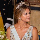 Wunderbare Liebeserklärung: Prinzessin Madeleine trägt ihr Hochzeitsdiadem.
