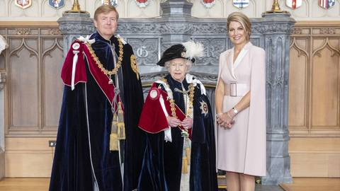 Queen Elizabeth, Willem-Alexander + Co. : Diese Fotos haben Seltenheitswert