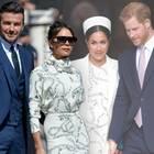 David und Victoria Beckham, Herzogin Meghan und Prinz Harry