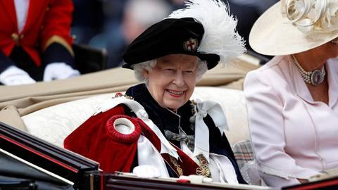 Garter Day 2019: Die Queen verleiht den exklusiven Hosenbandorden