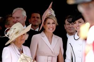 Herzogin Camilla, Königin Máxima + Herzogin Catherine