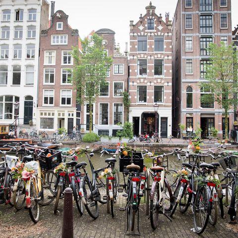 Amsterdam zählt zu den beliebtesten Reisezielen der Welt