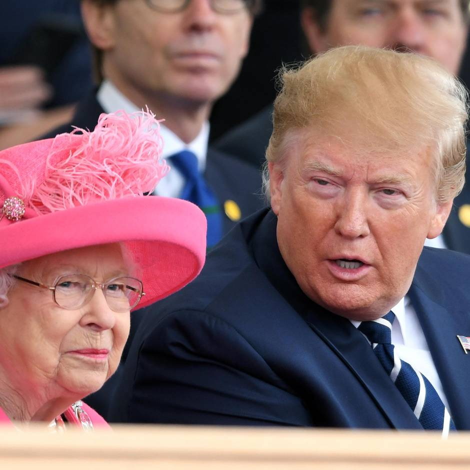 Probleme mit den Sicherheitsbeamten der Queen