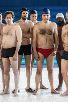 """""""Ein Becken voller Männer"""" startet am 27. Juni 2019 in den deutschen Kinos."""