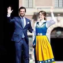 Engagiertes Paar: Prinz Carl Philip und Prinzessin Sofia