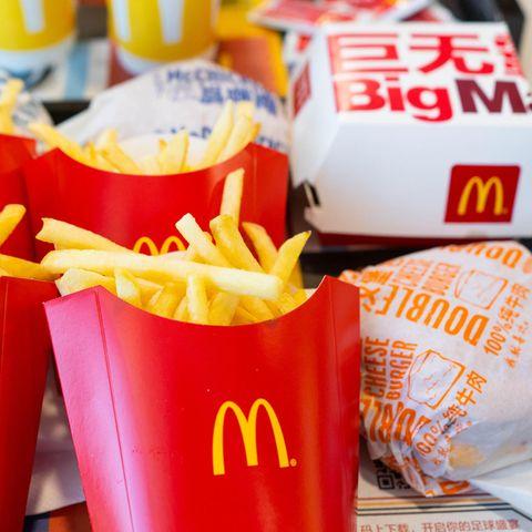 Fast Food von McDonald's.