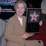 1998 bekommt Meryl Streep einen Stern auf dem Walk of Fame in Hollywood.