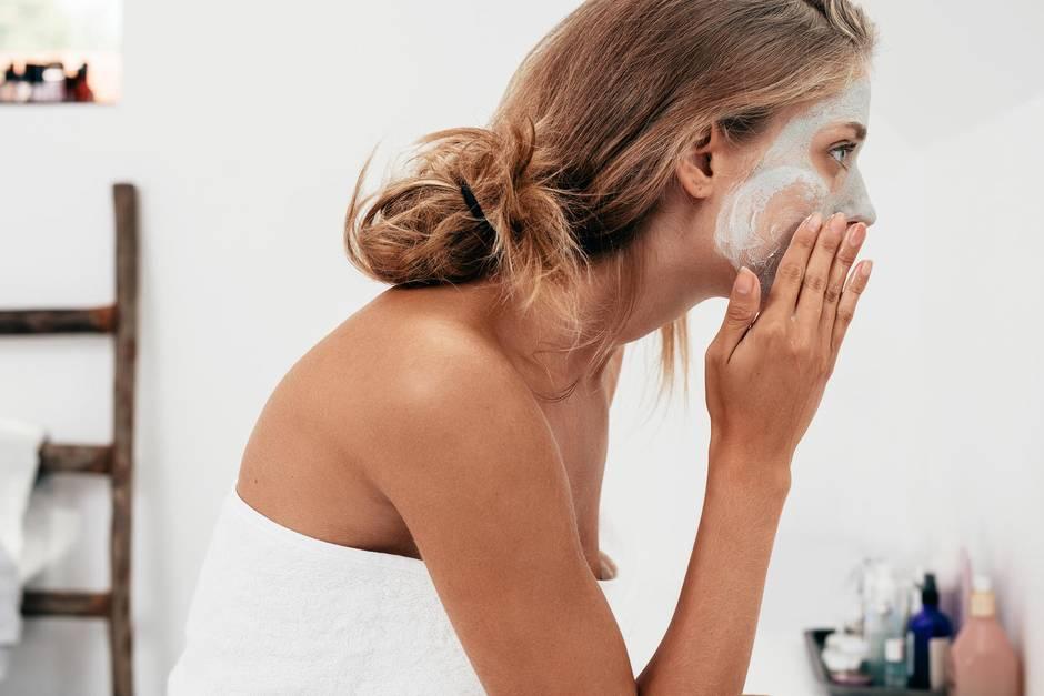 Gesichtsreinigung, Hautpflege, Reinigung, Hautreinigung, Gesichtspflegeprodukt